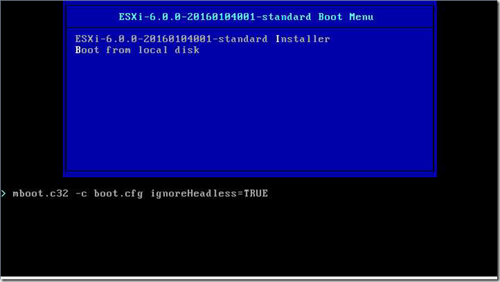 "ESXi 6 install stuck on ""Relocating modules and starting up"